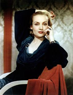 hollywood starlets of the 40s in color - Bing images