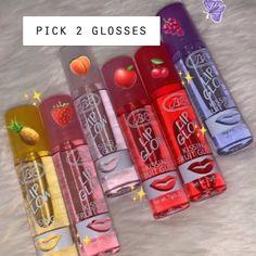 vintage Roll On Lipgloss on Mercari Instagram Baddie, Gloss Labial, Lipgloss, Buxom Lip, Lipsticks, Glossy Lips, Aesthetic Makeup, Cute Makeup, Lip Care