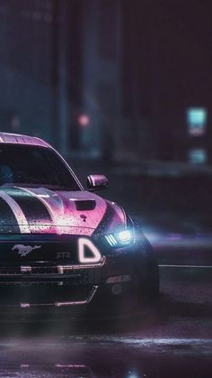 The Ford Mustang GT is an American car manufactured by Ford. In the generation Ford Mustang is a thoroughly modern rear drive performance coupe. Ford Mustang Gt, Ford Mustang Wallpaper, Mustang Cars, Luxury Sports Cars, Best Luxury Cars, Super Cars Images, Car Images, Lamborghini Cars, Bugatti