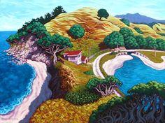 Rachel Olsen - NZ Artist Nz Art, Art For Art Sake, New Zealand Art, Art Diary, Maori Art, Kiwiana, True Art, Artist Painting, Giclee Print