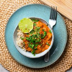 Try this flavour-packed vegetarian halloumi tikka masala for a lighter and dairy free version of the classic dish. From fridge to plate in 30 minutes!