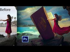 How to Create a Large Book on Adobe Photoshop Photoshop Video, Photoshop Photos, Photoshop Photography, Video Editing, Photography Tutorials, Photoshop Tutorial, Digital Photography, Adobe Photoshop, Photography Hacks