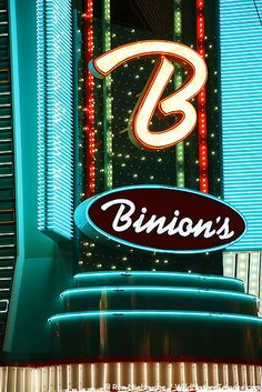 Binion's Hotel and Casino in downtown Las Vegas