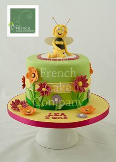 Childrens Birthday Cake Gateau D 39 Anniversaire Pour Enfant Bebe Maya L 39 Abeille