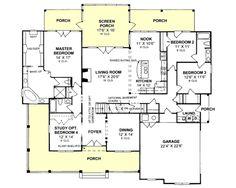 **One story floor plan with upstairs bonus. Needs a sunroom!