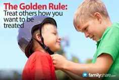 FamilyShare.com | The Golden Rule.  LOVE how they take it 5 steps further in this article!  (Do, Speak, Feel, Think, and Respect)  SUCH an important thing to teach children (okay, and myself)
