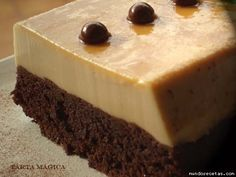 Receta de Tarta mágica o pastel imposible