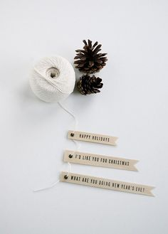 gift tag by the style files, via Flickr