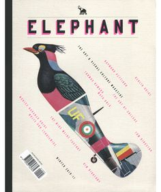 Elephant magazine cover via What Katie Does #design #magazine #editorial