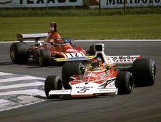 Emerson Fittipaldi & Niki Lauda