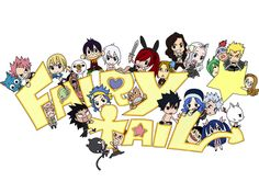 Chibi fairy tail! Okay I like this so you guys almost at 2,000 pins