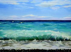 """Becky Rowe Fine Art – """"Painting the world through a colorful lens, always searching for beauty and composition"""" Venice, Searching, Composition, Lens, My Arts, Waves, Colorful, Oil, Fine Art"""