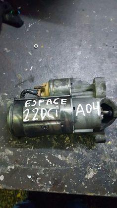 Motor de arranque Renault Espace 2.2 Dci 2004. Enviamos para todo país. Transportadora / Correio.