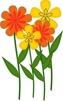 CH B *✿* Friendship Flowers, Flower Pictures, Flower Designs, Flower Power, Clip Art, Scrapbook, Drawings, Plants, Patterns