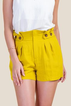 Cute Casual Outfits, Short Outfits, Casual Shorts, Summer Outfits, Hot Shorts, Hot Pants, Female Shorts, Pants Outfit, Ideias Fashion