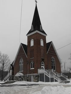 Knowlton, Quebec United Church in Knowlton Cathedral, Real Estate, The Unit, History, Amazing, Building, Travel, Nun, Historia