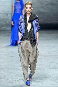 Haider Ackermann. This is one my favorites from the SS12 show.