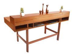 Vintage Danish Mod teak desk: swoon!