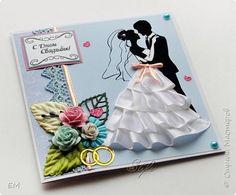 Открытка Свадьба Ассамбляж Открытки коробочки свадебные  фото 1