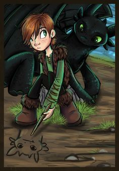 HTTYD: Drawing by sharpie91.deviantart.com on @deviantART