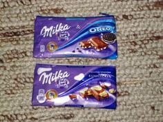 Schokoladentäschchen / Chocolate pouch / Upcycling