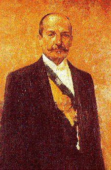 Hermes da Fonseca, oitavo presidente do Brasil (1910-1914) em traje civil, era militar. Sul-rio-grandense