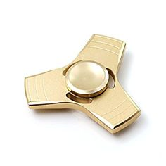 iDeporte Fidget Hand Spinner Toy - High Performance Bearing For Extremely Fast And Long Spin Time - Ideal For Persons with ADHD, Anxiety, And Other Attention Disorder Issues