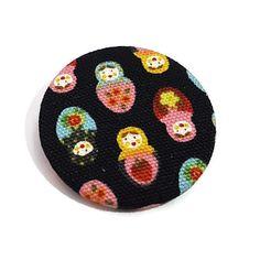 Matryoshka Pin-Russian Doll Pin-Cute Pin-Doll Badge-Lapel