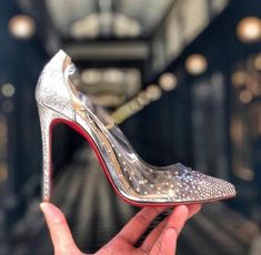 094f96e68d7 Get the must-have pumps of this season! These Christian Louboutin Degrastrass  Pvc 100 Mm Stiletto Heel Pumps Size EU (Approx.