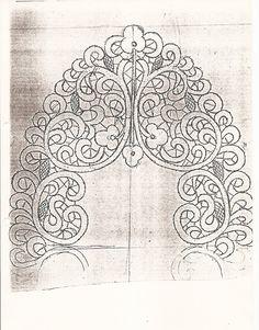 Archivio album - Oude patronen, old patterns, viejos patrones, старые картины