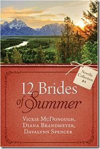 """""""My favorite story of the three was The Columbine Bride by Davalynn Spencer. The storytelling here felt much longer than the 50ish page count that it actually was. Sometimes these romances can feel rushed to at least give you some result in the short page count, but this one did not feel that way at all."""" #bookreview"""