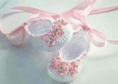 These little ballet shoes are so adorable!