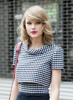 Taylor Swift in Gingham