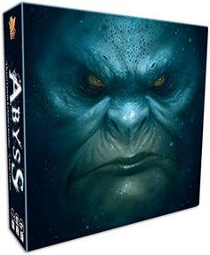 Bombyx 001015 - Abyss Brettspiel, blau