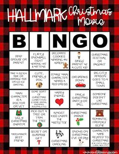 Sweet Blessings: Hallmark Christmas Movie Bingo – New Year Christmas Movie Night, Christmas Bingo, Movie Night Party, Hallmark Christmas Movies, Christmas Time Is Here, Hallmark Movies, Christmas Quotes, Christmas Activities, Christmas Holidays