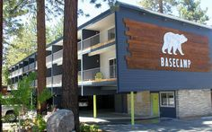 Looking for a place to stay in Tahoe? The Burton Girls suggest Base Camp!
