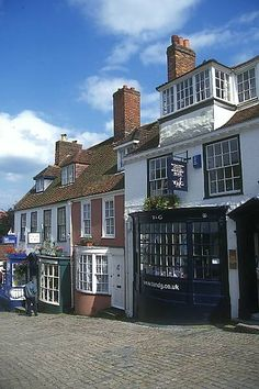 Lymington, New Forest, Hampshire - just love how each of the buildings is painted to grab my attention.