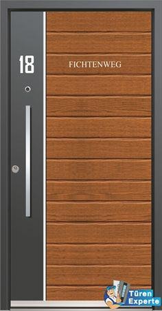 Haustüre AGE 1067 (Inotherm) jetzt auf http://www.tueren-experte.de konfigurieren und Holzdekor auswählen.