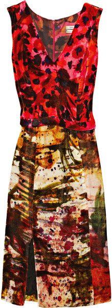 Erdem Olivia Velvet Dress