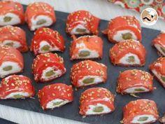 Rotolini di salmone e asparagi, Foto 3