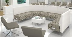 Zola Privacy creates an informal meeting space