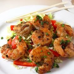 Salt and Pepper Shrimp by In The Kitchen with Kath