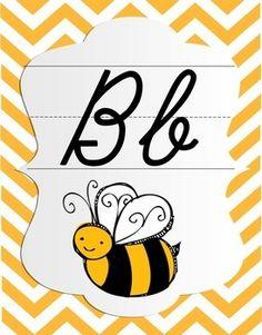 Brighten up your classroom with these Bright Chevron Cursive Alphabet Posters. Classroom Walls, Classroom Posters, Classroom Displays, Classroom Ideas, Future Classroom, School Classroom, Cursive Small Letters, Cursive Alphabet, Lyrics