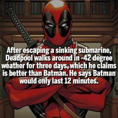 Deadpool is a Badass