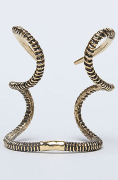 Elizabeth Knight The Horn Cuff in Gold : MissKL.com - Cutting Edge Women's Fashion, Accessories and Shoes.