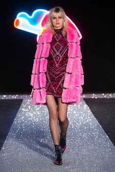 Milan Fashion Week ended with a bang thanks to Just Cavalli bright and colourful collection.