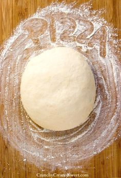 The Best Homemade Pizza Dough Photo.  Tutorial //   Repined by Pizza del Cuadro, Pizzeria Chaclacayo  / Lima Peru