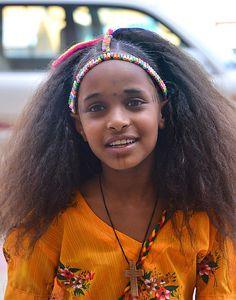 CHILDREN: A GIFT FROM GOD -  Psalm 127:3 --- Ashenda Girl, Mekele, Ethiopia | by Rod Waddington