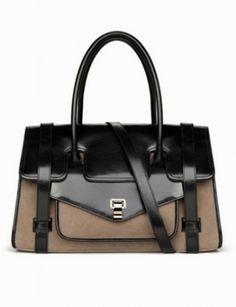 XIANG Bi-Color Shoulder Bag  #jessicabuurman #wishlist