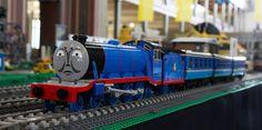 Ryan's Gordon on the main train layout at Brickvention | Flickr - Photo Sharing!